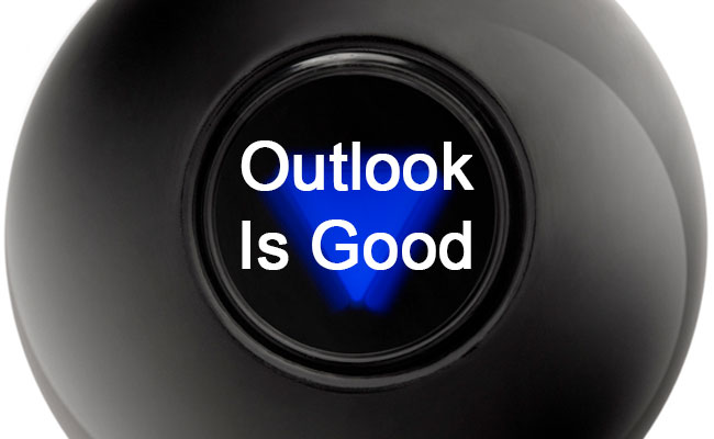 Outlook Is Good - Magic 8 Ball